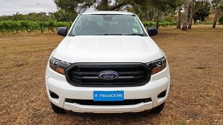 2019 Ford Ranger PX MkIII 2020.25MY XL White 6 Speed Sports Automatic Double Cab Pick Up.