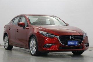 2018 Mazda 3 BN5238 SP25 SKYACTIV-Drive GT Red 6 Speed Sports Automatic Sedan.