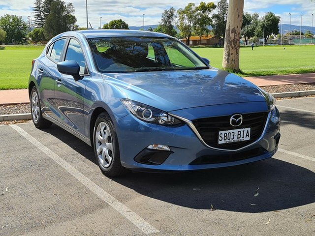 Used Mazda 3 BM5476 Neo SKYACTIV-MT Nailsworth, 2014 Mazda 3 BM5476 Neo SKYACTIV-MT Blue 6 Speed Manual Hatchback