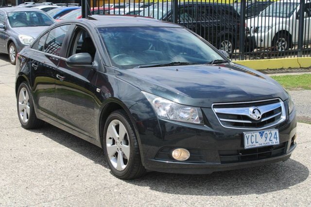 Used Holden Cruze JG CDX West Footscray, 2010 Holden Cruze JG CDX 6 Speed Automatic Sedan