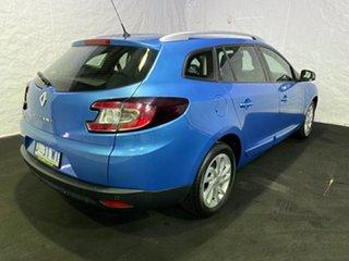 2014 Renault Megane III K95 Phase 2 GT-Line Sportwagon EDC Blue 6 Speed Sports Automatic Dual Clutch