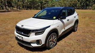 2020 Kia Seltos SP2 MY21 GT-Line DCT AWD Snow White Pearl 7 Speed Automatic Wagon