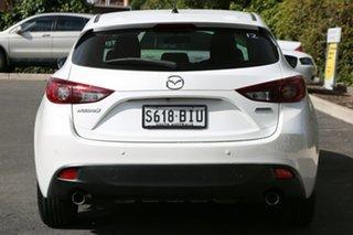 2015 Mazda 3 BM5478 Maxx SKYACTIV-Drive Snowflake White Pearl 6 Speed Sports Automatic Hatchback