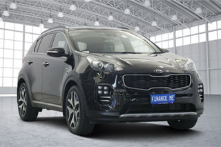 2017 Kia Sportage QL MY17 GT-Line AWD Black 6 Speed Sports Automatic Wagon.