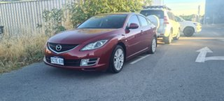 2008 Mazda 6 GH Classic 5 Speed Auto Activematic Hatchback.