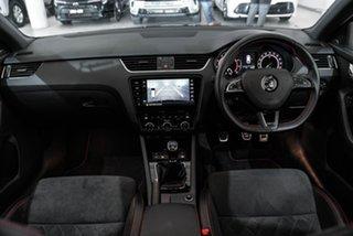 2017 Skoda Octavia NE MY18 RS 245 Black 6 Speed Manual Wagon.