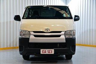 2015 Toyota HiAce KDH201R MY15 LWB White 4 Speed Automatic Van.