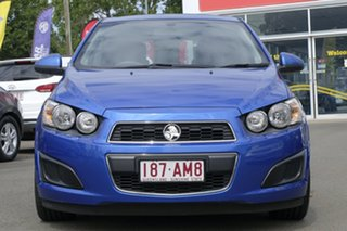 2012 Holden Barina TM MY13 CD Blue 6 Speed Automatic Hatchback