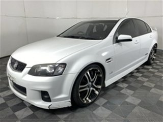 2011 Holden Commodore VE II MY12 SS White 6 Speed Sports Automatic Sedan.