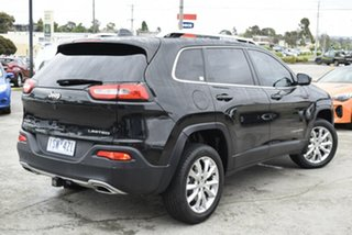 2015 Jeep Cherokee KL MY15 Limited Black 9 Speed Sports Automatic Wagon