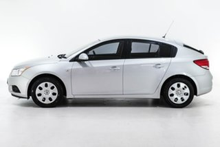 2012 Holden Cruze JH Series II MY12 CD Silver 6 Speed Sports Automatic Hatchback