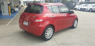 2012 Suzuki Swift FZ RE2 Red 4 Speed Automatic Hatchback