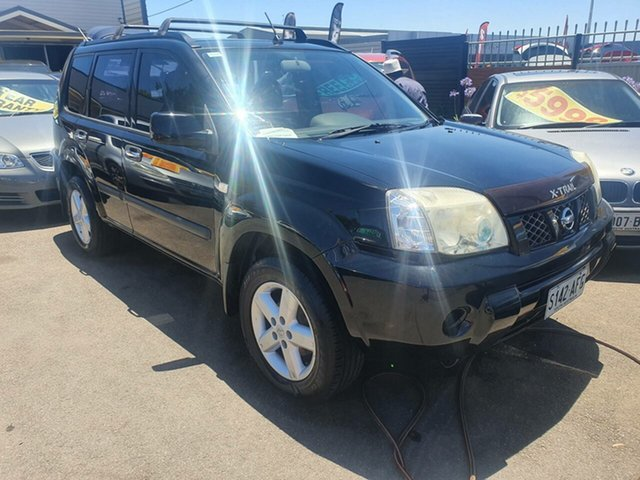 Used Nissan X-Trail T31 ST-L Morphett Vale, 2008 Nissan X-Trail T31 ST-L Black 6 Speed Manual Wagon