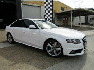 2008 Audi A4 B8 8K Multitronic White 8 Speed Constant Variable Sedan.