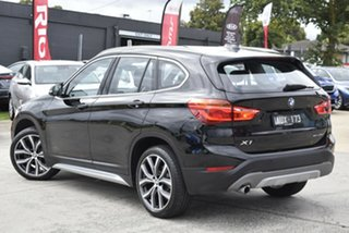 2018 BMW X1 F48 sDrive18d Steptronic Black 8 Speed Sports Automatic Wagon