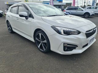 2018 Subaru Impreza G5 MY18 2.0i-S CVT AWD White 7 Speed Constant Variable Hatchback.