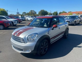 2016 Mini Countryman R60 MY15 Cooper D Silver 6 Speed Sports Automatic Wagon.