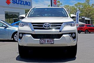 2015 Toyota Fortuner GUN156R GXL Blizzard/o 6 Speed Automatic Wagon.