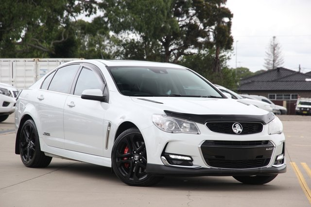 Used Holden Commodore VF II SS-V Redline Chullora, 2016 Holden Commodore VF II SS-V Redline White 6 Speed Automatic Sedan