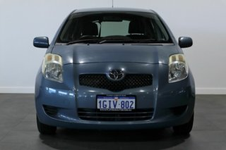 2006 Toyota Yaris NCP90R YR Blue 4 Speed Automatic Hatchback.