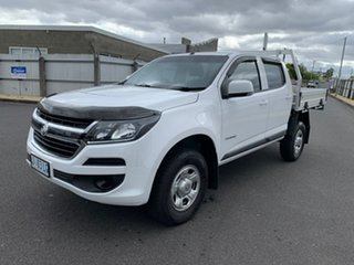 2019 Holden Colorado RG MY20 LS Crew Cab 4x2 White 6 Speed Sports Automatic Cab Chassis