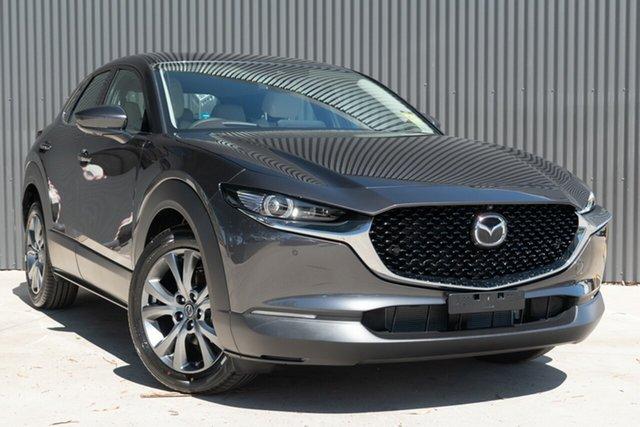 New Mazda CX-30 DM2W7A G20 SKYACTIV-Drive Astina Mornington, 2020 Mazda CX-30 DM2W7A G20 SKYACTIV-Drive Astina Machine Grey 6 Speed Sports Automatic Wagon