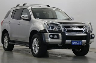 2018 Isuzu MU-X MY17 LS-T Rev-Tronic Silver 6 Speed Sports Automatic Wagon