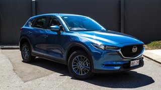 2020 Mazda CX-5 KF2W7A Maxx SKYACTIV-Drive FWD Sport Eternal Blue 6 Speed Sports Automatic Wagon.