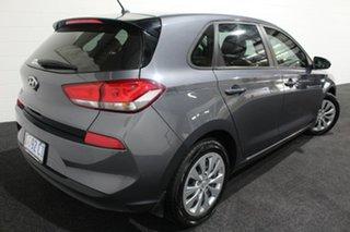 2018 Hyundai i30 PD MY19 Go Grey 6 Speed Sports Automatic Hatchback.
