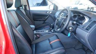 2012 Ford Ranger PX Wildtrak Double Cab Chilli Orange 6 Speed Sports Automatic Utility