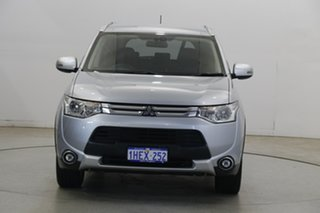 2015 Mitsubishi Outlander ZJ MY14.5 LS 2WD Cool Silver 6 Speed Constant Variable Wagon.
