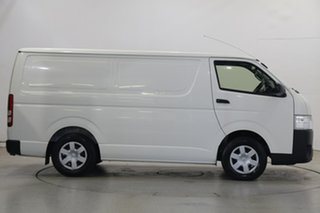 2015 Toyota HiAce TRH221R High Roof Super LWB White 6 Speed Automatic Van