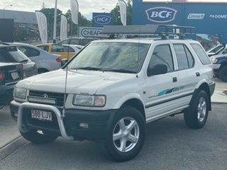 1999 Holden Frontera MX S White 5 Speed Manual Wagon.