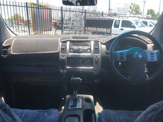 2011 Nissan Navara D40 ST (4x4) Grey 5 Speed Automatic Dual Cab Pick-up