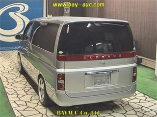 2005 Nissan Elgrand E51 XL Silver Automatic Wagon.