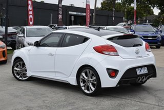 2017 Hyundai Veloster FS5 Series II SR Coupe D-CT Turbo White 7 Speed Sports Automatic Dual Clutch