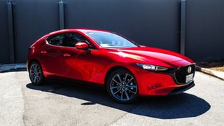 2020 Mazda 3 BP2HL6 G25 SKYACTIV-MT GT Soul Red Crystal 6 Speed Manual Hatchback