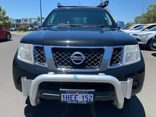 2011 Nissan Navara D40 MY11 ST-X Black 5 Speed Automatic Utility