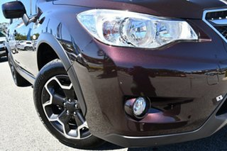 2013 Subaru XV G4X MY13 2.0i Lineartronic AWD Deep Cherry 6 Speed Constant Variable Wagon.