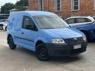 2008 Volkswagen Caddy 2KN SWB Blue 5 Speed Manual Van.