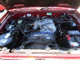 1998 Toyota Landcruiser Prado VZJ95R VX Grande Red 4 Speed Automatic Wagon