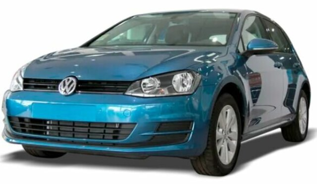 Used Volkswagen Golf VII MY17 92TSI DSG Launceston, 2017 Volkswagen Golf VII MY17 92TSI DSG Blue 7 Speed Sports Automatic Dual Clutch Hatchback