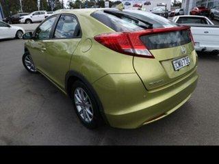 2012 Honda Civic FK VTi-L Green 5 Speed Automatic Hatchback.