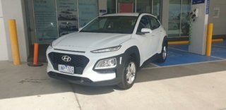 2018 Hyundai Kona OS MY18 Active 2WD Chalk White 6 Speed Sports Automatic Wagon.