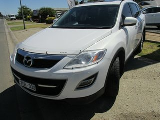 2010 Mazda CX-9 TB10A3 MY10 Grand Touring White 6 Speed Sports Automatic Wagon.