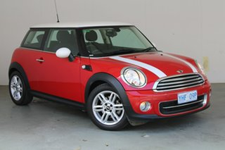 2010 Mini Hatch R56 MY10 Cooper Red 6 Speed Manual Hatchback