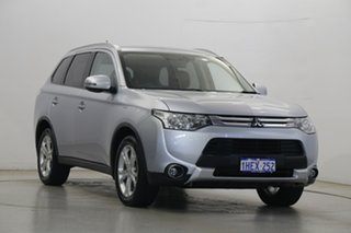 2015 Mitsubishi Outlander ZJ MY14.5 LS 2WD Cool Silver 6 Speed Constant Variable Wagon