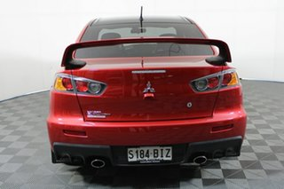 2015 Mitsubishi Lancer CJ MY15 Evolution Final Edition Red Diamond 5 Speed Manual Sedan