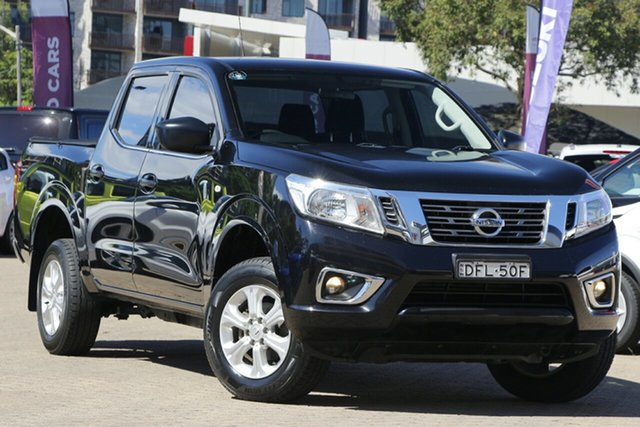 Used Nissan Navara D23 Series II DX (4x2) Rosebery, 2016 Nissan Navara D23 Series II DX (4x2) Black 7 Speed Automatic Double Cab Utility