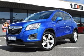2013 Holden Trax TJ MY14 LTZ Blue 6 Speed Automatic Wagon.